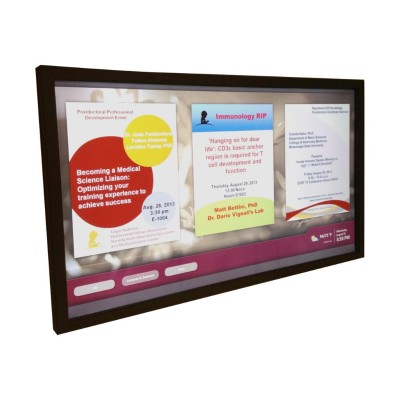TSI Touch TSI-D55-06IDOAR Touch overlay - multi-touch (6-point) - infrared - wired - black powder coat