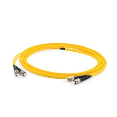 AddOn Computer Products ADD-ST-ST-5M9SMF 5m Single-Mode Fiber (SMF) Duplex ST/ST OS1 Yellow Patch Cable