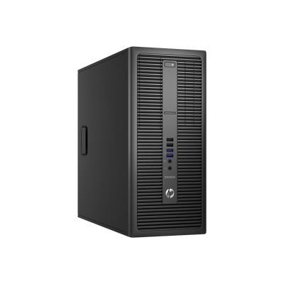 HP Inc. Y7B02UT#ABA EliteDesk 800 G2 - Tower - 1 x Core i7 6700 / 3.4 GHz - RAM 8 GB - SSD 256 GB - DVD SuperMulti - HD Graphics 530 - GigE - Win 7 Pro 64-bit (