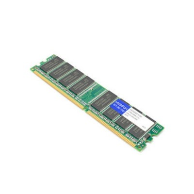 AddOn Computer Products AA16C6464-PC400 JEDEC Standard 512MB DDR-400MHz Unbuffered Dual Rank 2.5V 184-pin CL2.5 UDIMM
