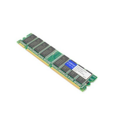 AddOn Computer Products AA32C6464-PC133 JEDEC Standard 512MB PC-133MHz Unbuffered Dual Rank 3.3V 168-pin CL2.5 UDIMM