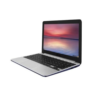 ASUS 90NL0913-M00880 Chromebook C201PA-DS02-LG Rockchip Cortex A17 RK3288 Quad-core 1.80GHz Notebook PC - 4GB RAM  16GB eMMC  11.6 HD  802.11ac  Bluetooth 4.0