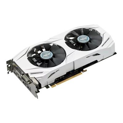 ASUS DUAL-RX480-4G DUAL-RX480-4G - Graphics card - Radeon RX 480 - 4 GB GDDR5 - PCIe 3.0 x16 - DVI  2 x HDMI  2 x DisplayPort