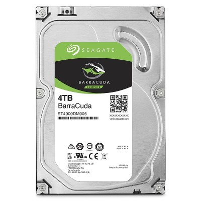 Seagate ST4000DM005 Barracuda ST4000DM005 Hard drive 4 TB internal 3.5 SATA 6Gb s buffer 64 MB