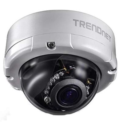 TRENDnet TV-IP345PI TV IP345PI - Network surveillance camera - dome - outdoor - weatherproof - color (Day&Night) - 4 MP - 2688 x 1520 - motorized - audio - LAN