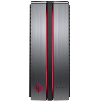 HP Inc. X6F78AA#ABA OMEN 870-141 Intel Core i7-6700 Quad-Core 3.40GHz Desktop PC - 16GB RAM  256GB SSD + 1TB HDD  SuperMulti DVD  Gigabit Ethernet  802.11a/b/g/