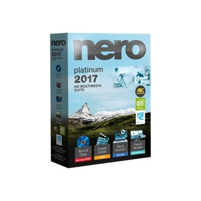 Nero AMER-12270000/569 2017 Platinum - Box pack - 1 user - Win - Americas