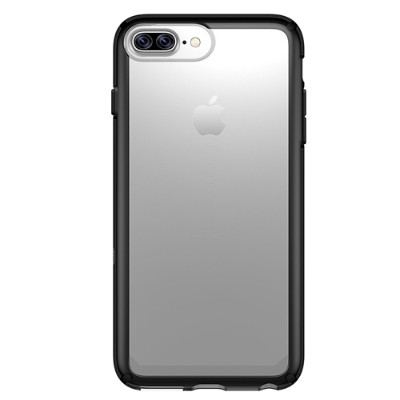 Speck Products 80267-5905 GemShell iPhone 6/7 - Back cover for cell phone - thermoplastic polyurethane - black/clear - for Apple iPhone 7 Plus