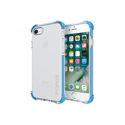 Incipio IPH-1470-CCN Reprieve [SPORT] Protective Case with Reinforced Corners for iPhone 7 - Clear/Cyan