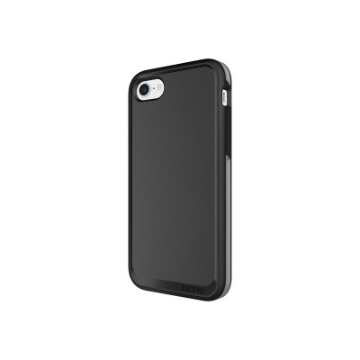 Incipio IPH-1490-BKG PERFORMANCE MAX - Back cover for cell phone - gray  black - for Apple iPhone 7