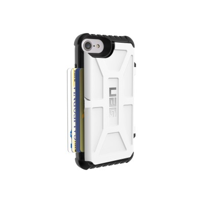 Urban Armor Gear IPH7/6S-T-WH iPhone 7/6S (4.7 Screen) Trooper Case-White/Black-Visual Packaging