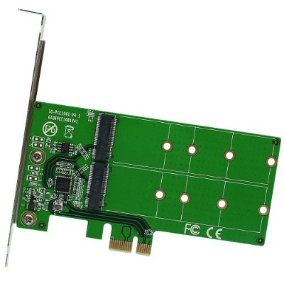 Syba Multimedia SI-PEX40115 2 PORT M.2 TO PCI-E X1 ADAPTER B OR B+M KEY