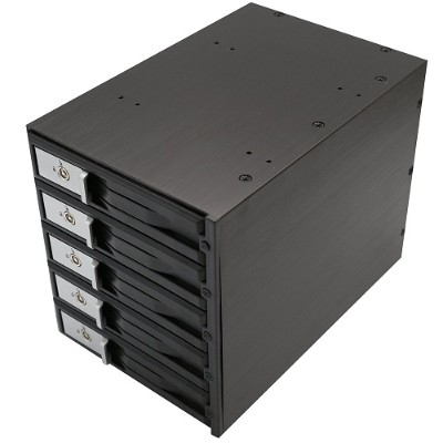 "Syba Multimedia SY-MRA35031 3.5"" 5-BAY SATA/SAS HDD INTERNAL ENCLOSURE"