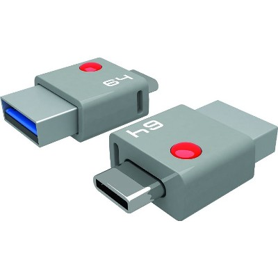 Emtec ECMMD64GT403 FLASH DRIVE 64GB USB3 OTG TYPE-C