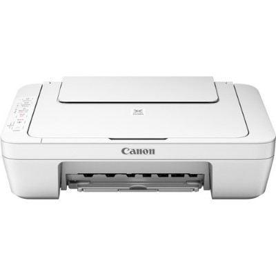 Canon 1346C022 PIXMA MG3020 - Multifunction printer - color - ink-jet - 8.5 in x 11.7 in (original) - Legal (media) - up to 8 ipm (printing) - 60 sheets - USB 2