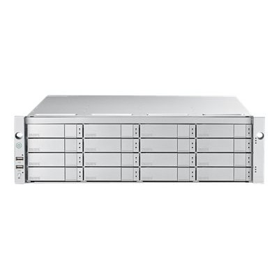 Promise E5600FDQS8 VTrak E5600FD - Hard drive array - 128 TB - 16 bays (SATA-600 / SAS-3) - HDD 8 TB x 16 - 16Gb Fibre Channel (external) - rack-mountable - 3U
