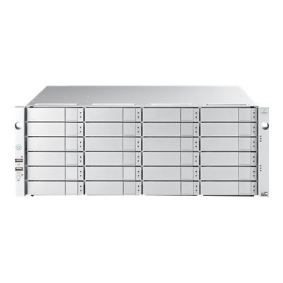 Promise J5800SDQS4 VTrak J5800sD - Hard drive array - 96 TB - 24 bays (SATA-600 / SAS-3) - HDD 4 TB x 24 - SAS 12Gb/s (external) - rack-mountable - 4U