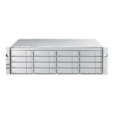 Promise E5600FDNX VTrak E5600FD - Hard drive array - 16 bays (SATA-600 / SAS-3) - 16Gb Fibre Channel (external) - rack-mountable - 3U