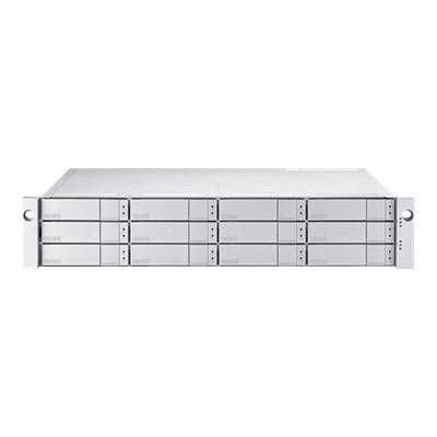 Promise E5300FDNX VTrak E5300FD - Hard drive array - 12 bays (SATA-600 / SAS-3) - 16Gb Fibre Channel (external) - rack-mountable - 2U