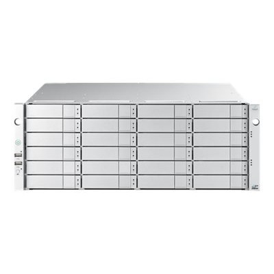 Promise E5800FDQS8 VTrak E5800FD - Hard drive array - 192 TB - 24 bays (SATA-600 / SAS-3) - HDD 8 TB x 24 - 16Gb Fibre Channel (external) - rack-mountable - 4U