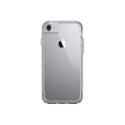 Griffin GB42312 Survivor Clear - Back cover for cell phone - polycarbonate  thermoplastic polyurethane - clear - for Apple iPhone 6  6s  7