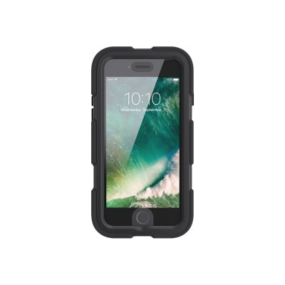 Griffin GB42761 Survivor All-Terrain - Protective case for cell phone - rugged - silicone  polycarbonate  PET - black - for Apple iPhone 7