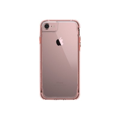 Griffin GB42313 Survivor Clear - Back cover for cell phone - polycarbonate  thermoplastic polyurethane - rose gold - for Apple iPhone 6  6s  7