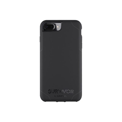 Griffin GB42815 Survivor Journey - Back cover for cell phone - polycarbonate  thermoplastic polyurethane - black  dark gray - for Apple iPhone 6 Plus  6s Plus