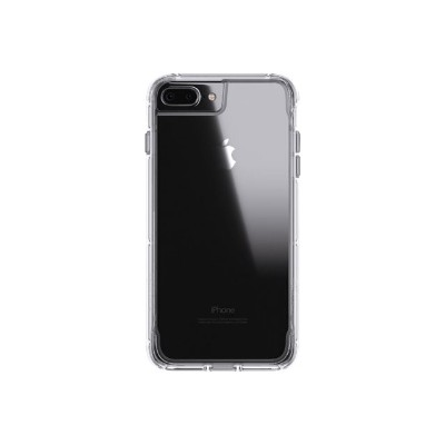 Griffin GB42316 Survivor Clear - Back cover for cell phone - polycarbonate  thermoplastic polyurethane - clear - for Apple iPhone 6 Plus  6s Plus  7 Plus