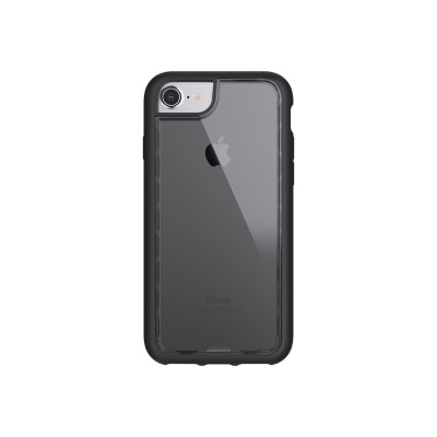 Griffin GB42896 Survivor Adventure - Back cover for cell phone - polycarbonate  thermoplastic polyurethane - clear - for Apple iPhone 6  6s  7