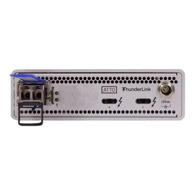 ATTO TLNS-3101-D00 ThunderLink NS 3101 - Network adapter - Thunderbolt 3 - 10 Gigabit SFP+ x 1