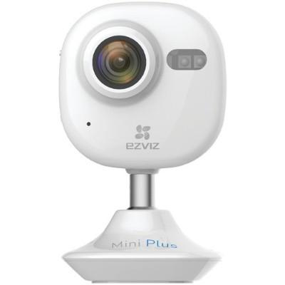 EZVIZ EZMINPLSWHG16 1080p Wi-Fi Indoor Camera with 16GB microSD Card - White