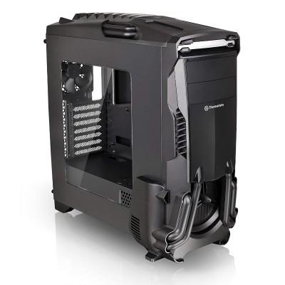 ThermalTake CA-1G1-00M1WN-00 Versa N24 - Mid tower - ATX - no power supply (PS/2) - black - USB/Audio