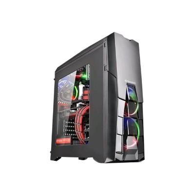 ThermalTake CA-1G2-00M1WN-00 Versa N25 - Mid tower - ATX - no power supply (PS/2) - black - USB/Audio