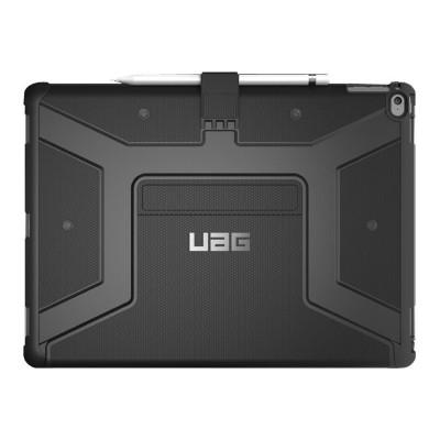 Urban Armor Gear IPDPRO12.9-E-BL iPad Pro 12.9in Metropolis Case-Black/Silver Logo/Black-Visual Packaging
