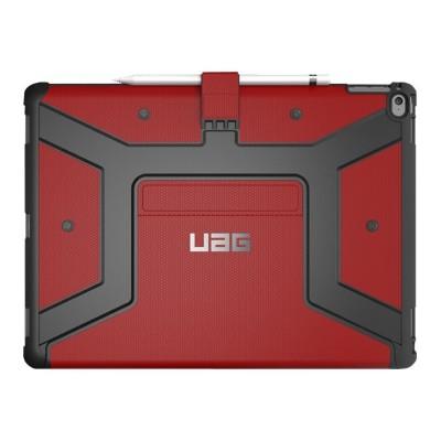 Urban Armor Gear IPDPRO12.9-E-MG iPad Pro 12.9in Metropolis Case-Magma/Silver Logo/Black-Visual Packaging