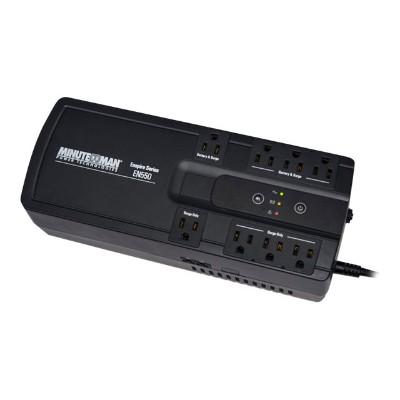 Minute man EN550 Minuteman EnSpire EN550 - UPS - AC 120 V - 300 Watt - 550 VA - USB - output connectors: 8