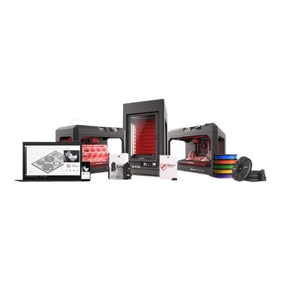 MakerBot Industries PROBUNDLE Replicator Z18 - Professional Bundle - 3D printer - FDM - build size up to 18 in x 12 in x 12 in - layer: 2.54 mil - USB  LAN  USB