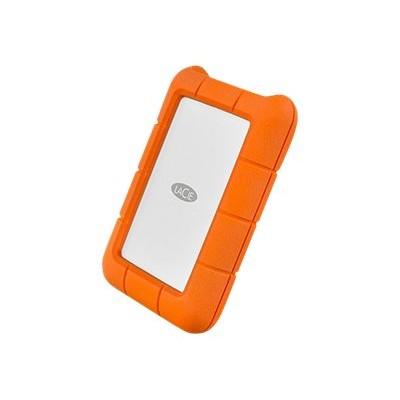 LaCie STFR2000400 Rugged USB-C - Hard drive - 2 TB - external (portable) - USB 3.1 Gen1 - orange