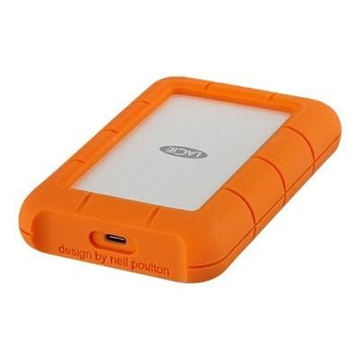 Seagate STFR4000400 Rugged USB-C - Hard drive - 4 TB - external (portable) - USB 3.1 Gen1 - orange