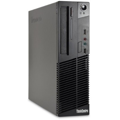 Lenovo RB-727523301338 ThinkCentre M72e Intel Core i3-3220 Dual-Core 3.30GHz Small Form Factor Desktop - 8GB RAM  2TB HDD  DVD-ROM  Gigabit Ethernet - Refurbish