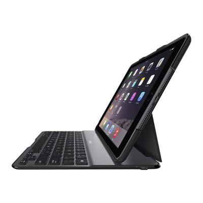 Belkin F5L192TTBLK QODE Ultimate Lite - Keyboard and folio case - Bluetooth - black keyboard  black case - for Apple 9.7-inch iPad Pro  iPad Air 2