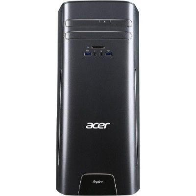 Acer AT3715AUR11 Aspire T3 Intel Core i7-6700 Quad-Core 3.40GHz Desktop Computer - 8GB RAM  1TB HDD  DVD-RAM/±R/±RW  Gigabit Ethernet