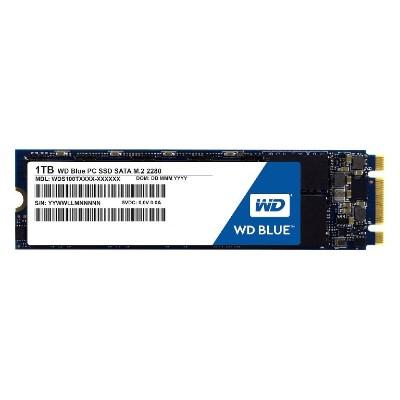 WD WDS100T1B0B 1TB Blue Solid State Drive - M.2