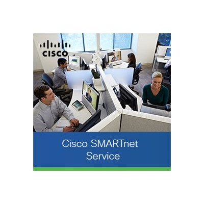 Cisco CON-ECMU-LICCT55A SMARTnet Software Support Service - Technical support - for L-LIC-CT5508-5A  LIC-CT5508-5A - phone consulting - 1 year - 24x7