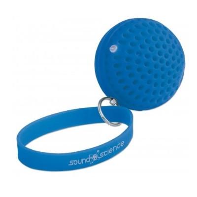 Manhattan 162449 Sound Science Atom Glowing Bluetooth Speake - Blue