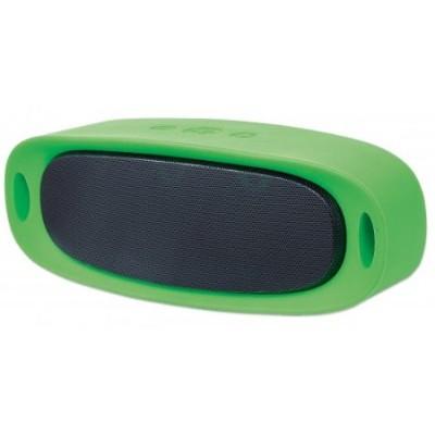 Manhattan 162371 Sound Science Orbit Durable Wireless Speaker - Green