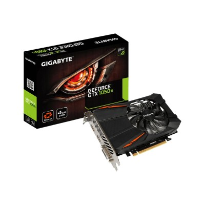 GIGA-BYTE Technology GV-N105TD5-4GD GeForce GTX 1050 Ti D5 4G - Graphics card - GF GTX 1050 Ti - 4 GB GDDR5 - PCIe 3.0 x16 - DVI  HDMI  DisplayPort