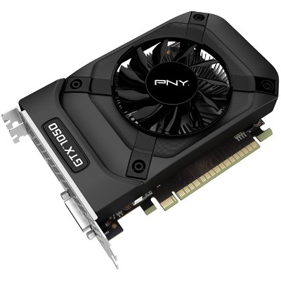 PNY VCGGTX10502PB NVIDIA GeForce GTX 1050 2GB GDDR5 PCIe Graphics Card