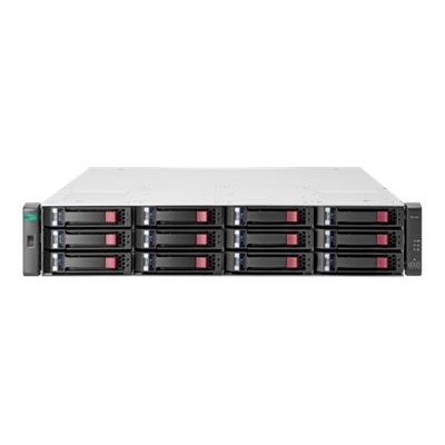 Hewlett Packard Enterprise Q0F75A Modular Smart Array 2042 SAS Dual Controller with Mainstream Endurance Solid State Drive LFF Storage - Hard drive array - 800